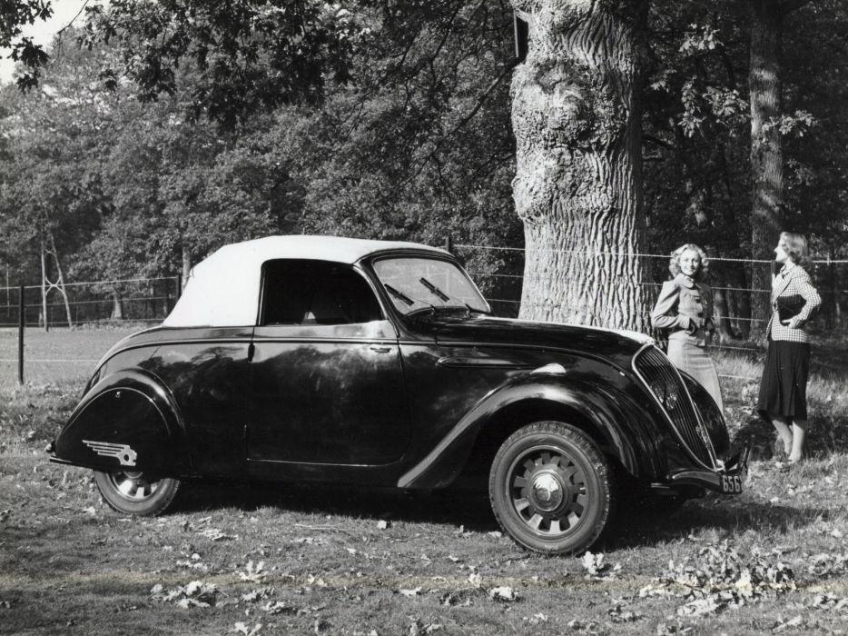 1938 Peugeot 202 Cabriolet D2 retro convertible   g wallpaper