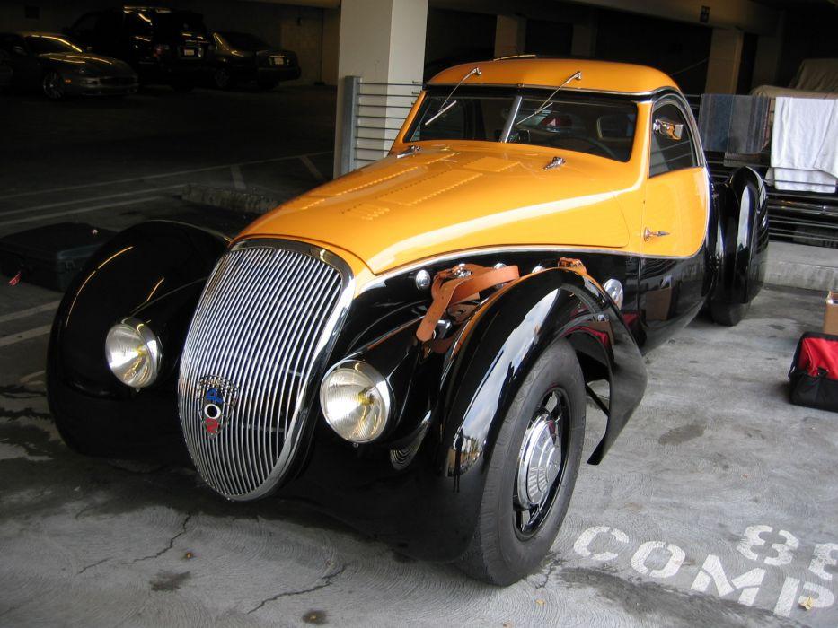 1938 Peugeot 402 Darl'mat Pourtout Coupe supercar retro wallpaper