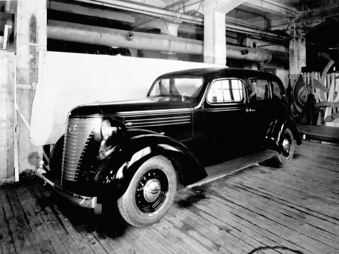 1938 Volvo PV801 Prototype retro wallpaper
