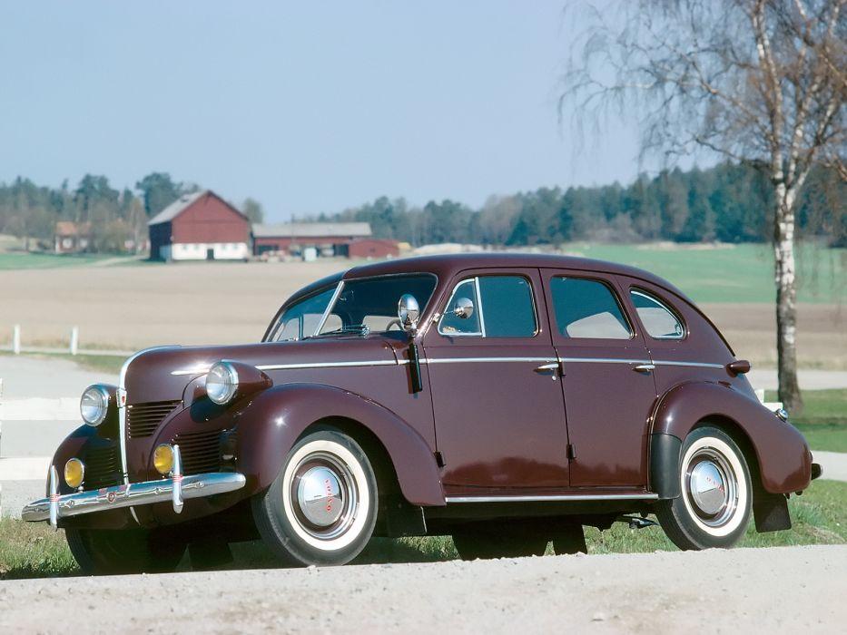 1946 Volvo PV60 retro    gh wallpaper