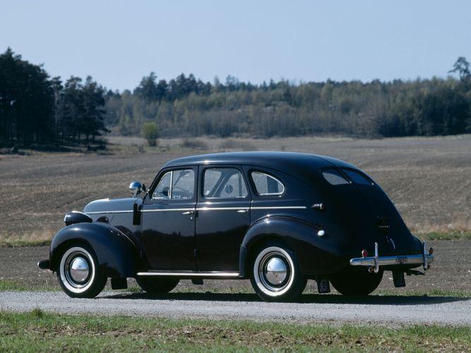 1946 Volvo PV60 retro wallpaper