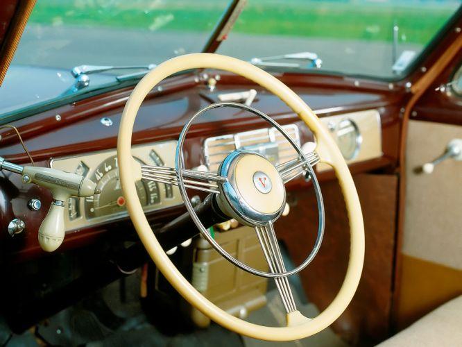 1946 Volvo PV60 retro interior g wallpaper