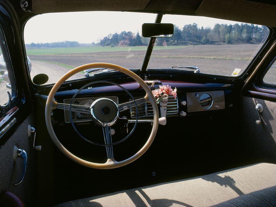 1946 Volvo PV60 retro interior h wallpaper