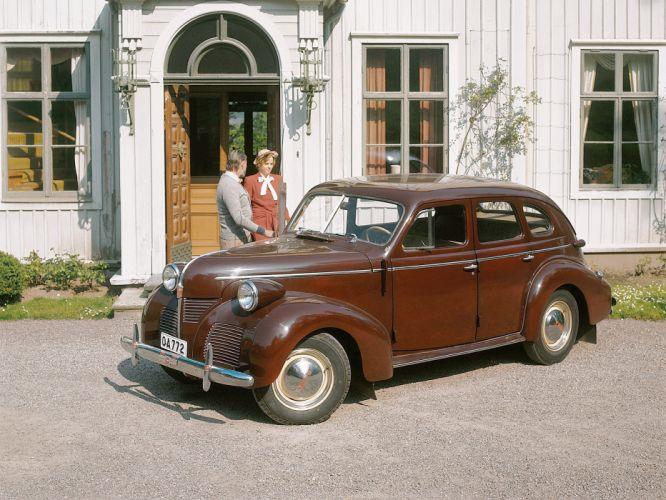 1946 Volvo PV60 retro f wallpaper