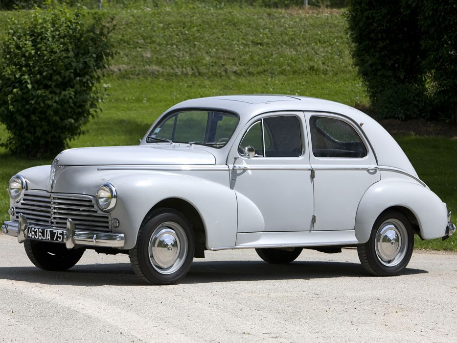 1948 Peugeot 203 retro   g wallpaper