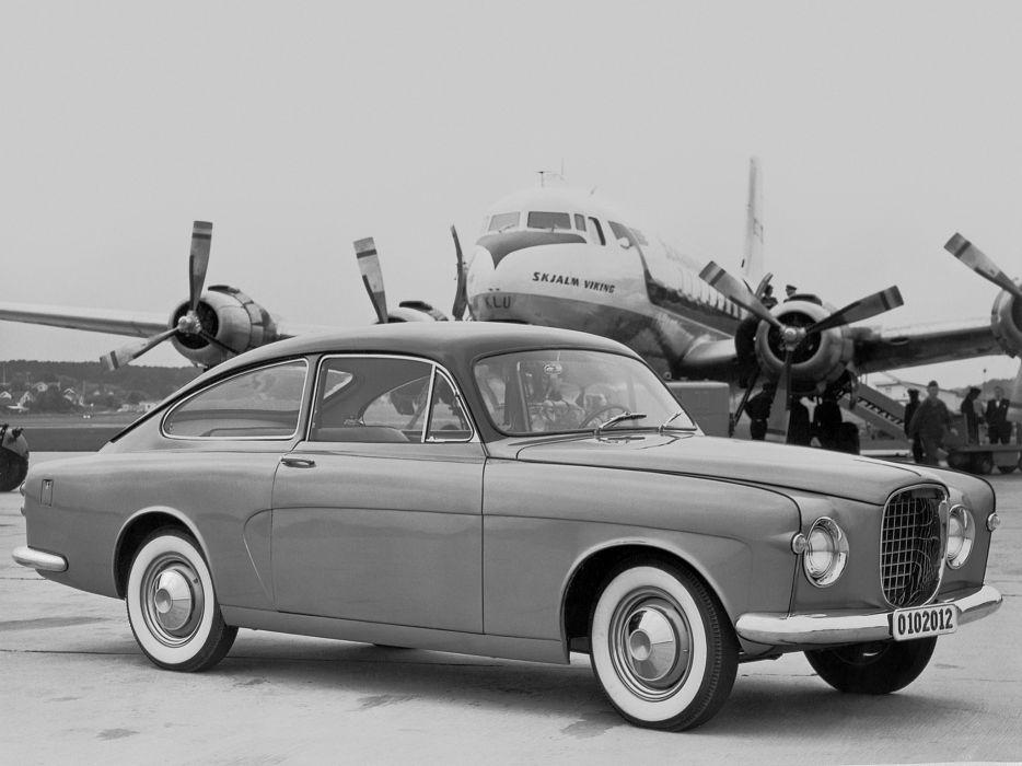1952 Volvo P179 Prototype retro wallpaper