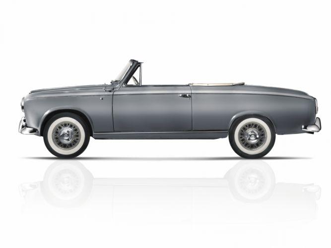 1955 Peugeot 403 Cabrio retro convertible wallpaper