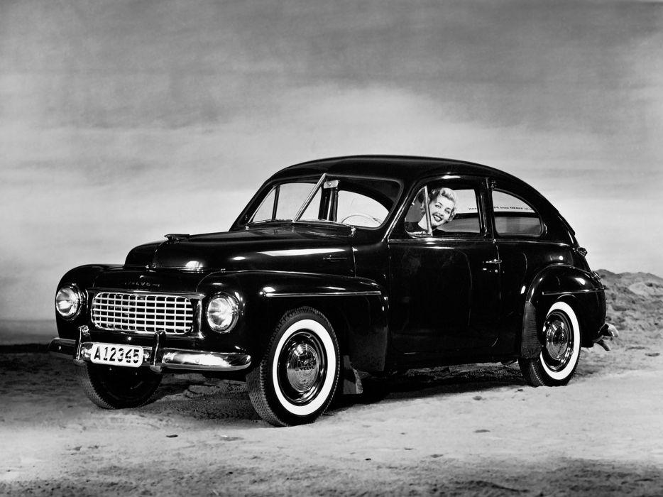 1955 Volvo PV444 KS retro    fg wallpaper