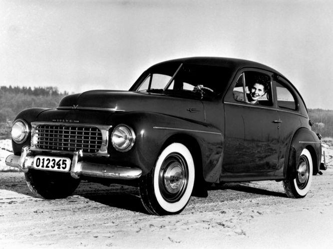 1955 Volvo PV444 KS retro g wallpaper