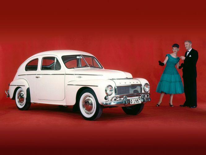 1955 Volvo PV444 KS US-spec retro g wallpaper