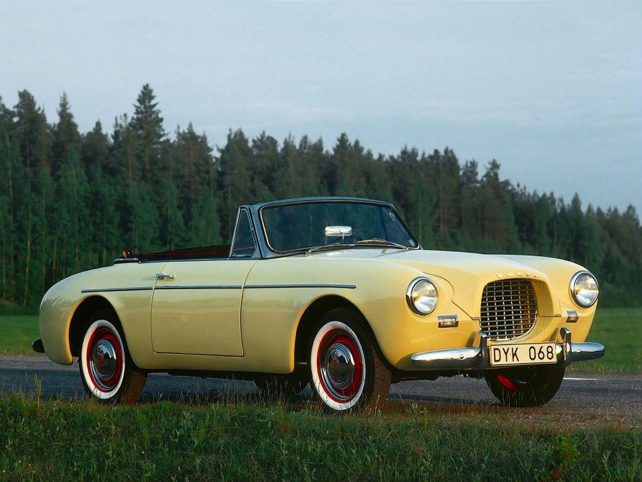 1956 Volvo P1900 Sport convertible retro      g wallpaper