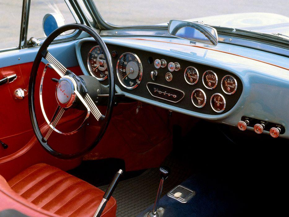 1956 Volvo P1900 Sport convertible retro interior     g wallpaper