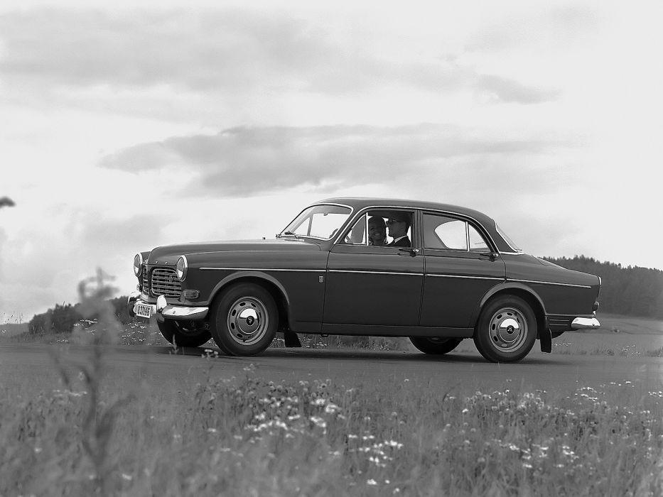 1959 Volvo 122S P120 retro  f wallpaper