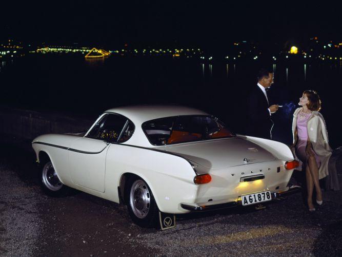 1961 Volvo P1800 classic d wallpaper