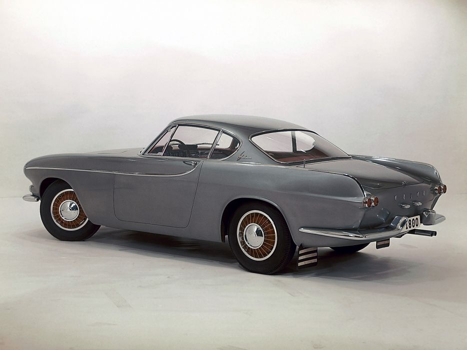 1961 Volvo P1800 classic   f wallpaper