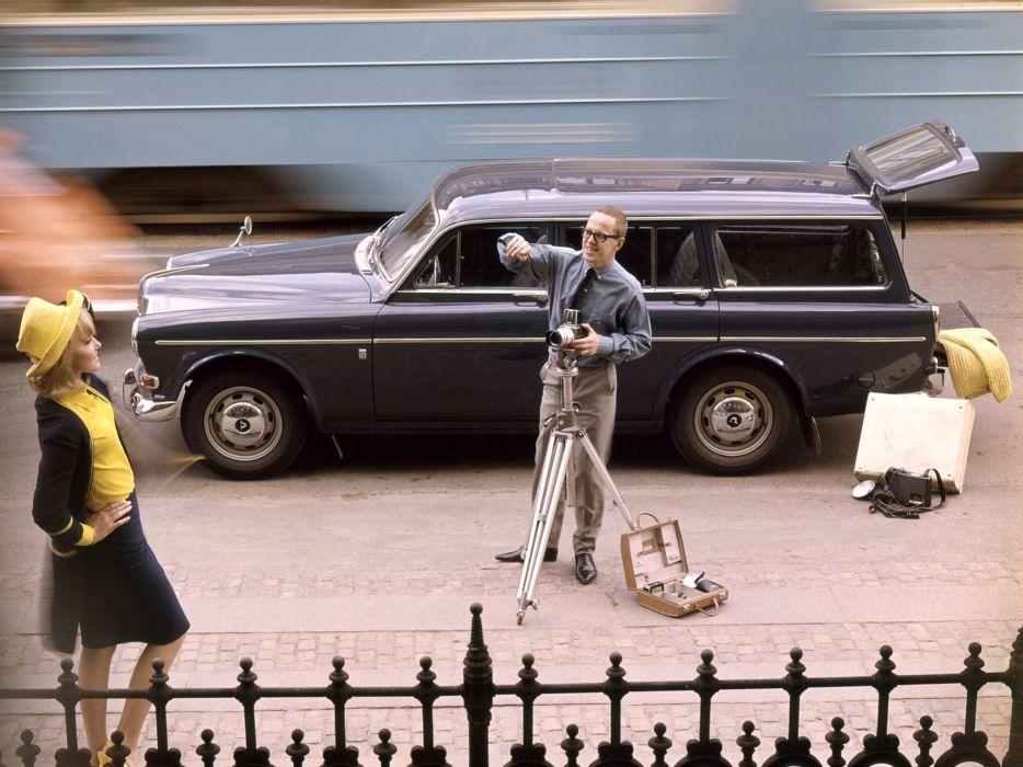 1962 Volvo 121 P220 stationwagon classic wallpaper