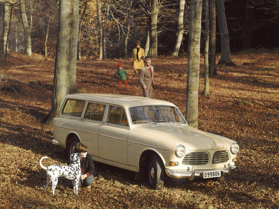 1962 Volvo 122S P220 stationwagon classic   h wallpaper
