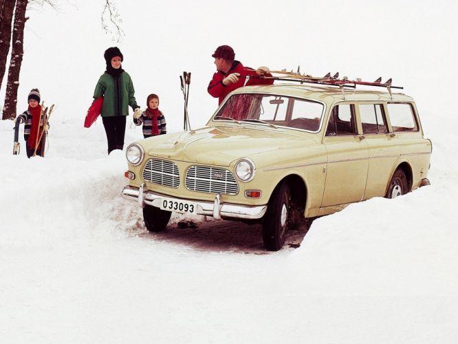1962 Volvo 122S P220 stationwagon classic wallpaper