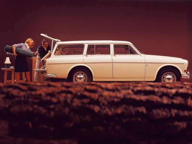 1962 Volvo 122S P220 stationwagon classic gf wallpaper