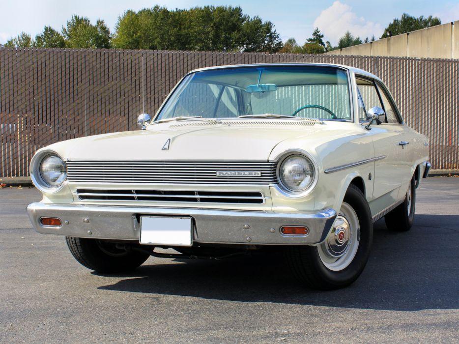 1964 AMC Rambler American 440 Hardtop Coupe 6409-5 muscle classic  h wallpaper