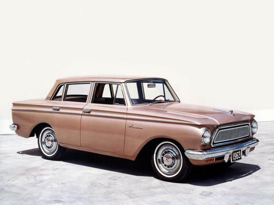 1963 AMC Rambler American 440 4-door Sedan 6305-5 classic wallpaper