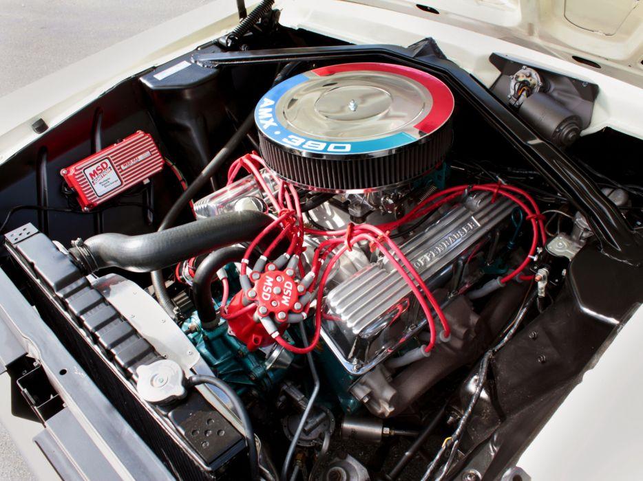 1964 AMC Rambler American 440 Hardtop Coupe 6409-5 muscle classic engine      h wallpaper