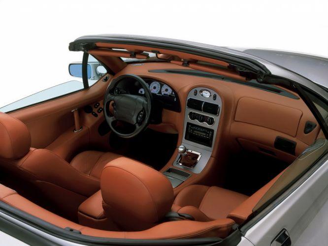2000 Qvale Mangusta supercar interior g wallpaper