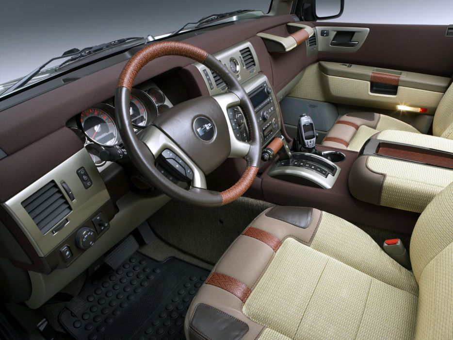 2007 Hummer H2 Safari OffRoad 4x4 suv h-2 interior    h wallpaper