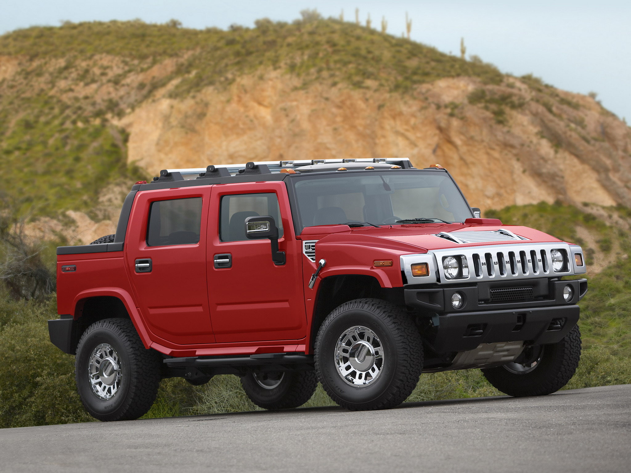 2007 hummer h2 sut victory red limited edition 4x4 suv h 2 f wallpaper 2048x1536 150204. Black Bedroom Furniture Sets. Home Design Ideas