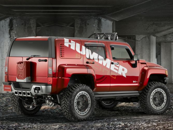 2007 Hummer H3R Off Road Concept 4x4 suv h-3 g wallpaper