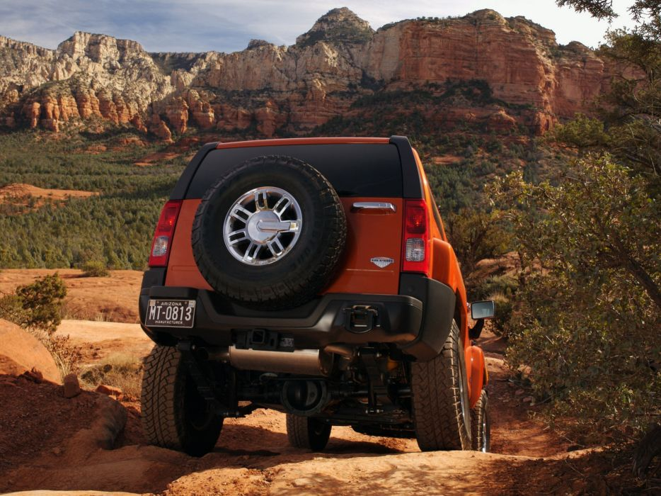 2008 Hummer H3 Alpha suv 4x4 h-3   gf wallpaper