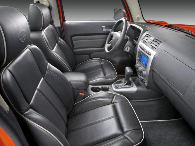 2008 Hummer H3T Alpha 4x4 pickup suv interior f wallpaper