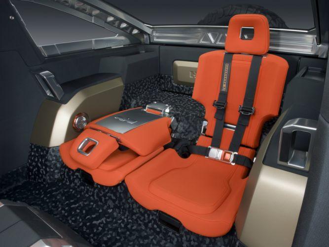2008 Hummer HX Concept 4x4 suv h-x interior g wallpaper