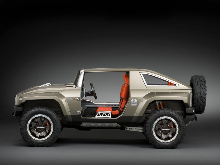 2008 Hummer HX Concept 4x4 suv h-x interior   b wallpaper