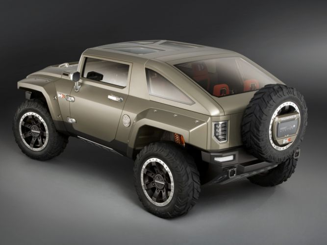 2008 Hummer HX Concept 4x4 suv h-x wheel g wallpaper