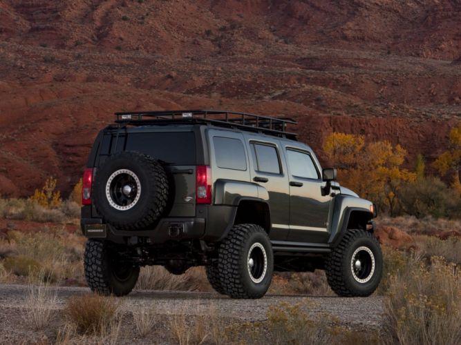 2009 Hummer H3 Moab Concept 4x4 suv h-3 wheel n wallpaper