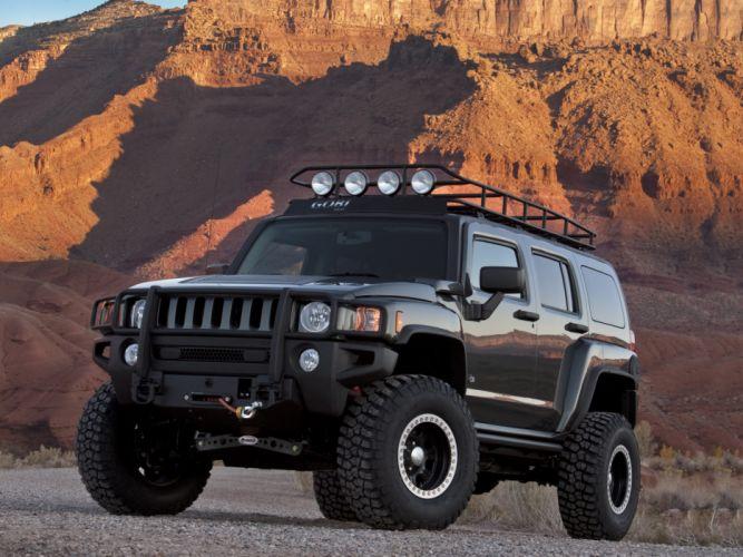 2009 Hummer H3 Moab Concept 4x4 suv h-3 wallpaper