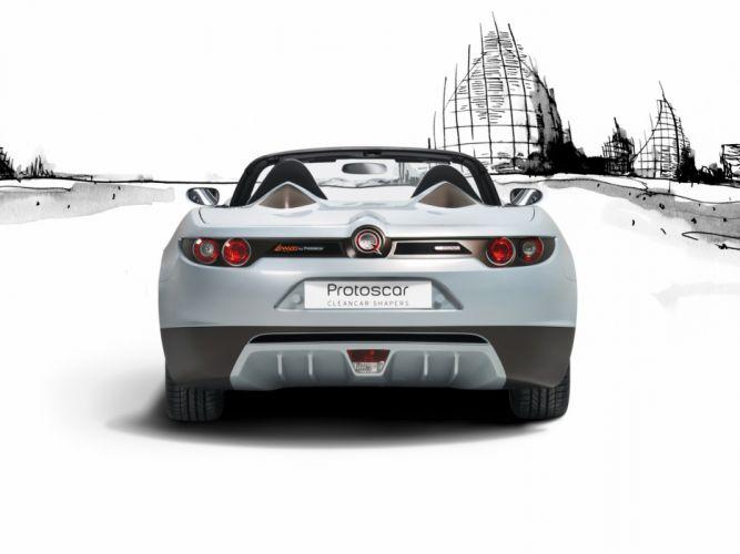2009 Protoscar Lampo Electric Roadster supercar gs wallpaper