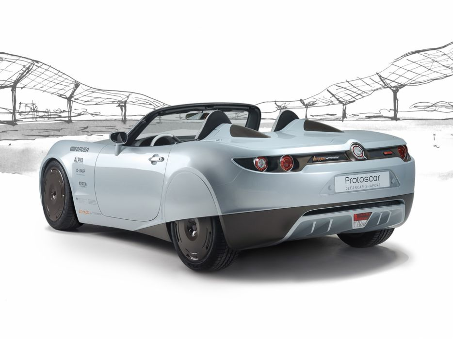 2009 Protoscar Lampo Electric Roadster supercar   g wallpaper