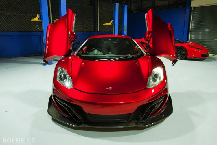 2013 DMC McLaren MP4 Velocita SE supercar d wallpaper