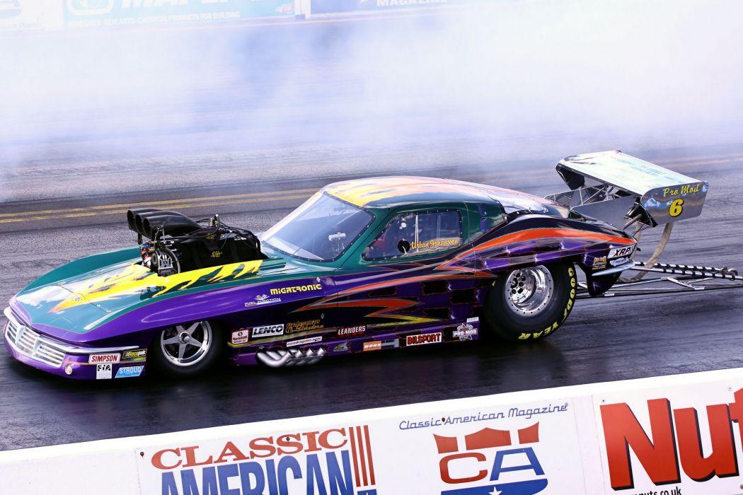 drag racing race hot rod rods Pro-Mod chevrolet corvette          g wallpaper