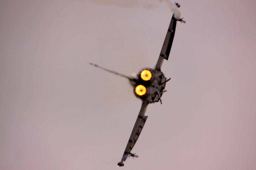 fighter jet military EF2000 Typhoon       j wallpaper