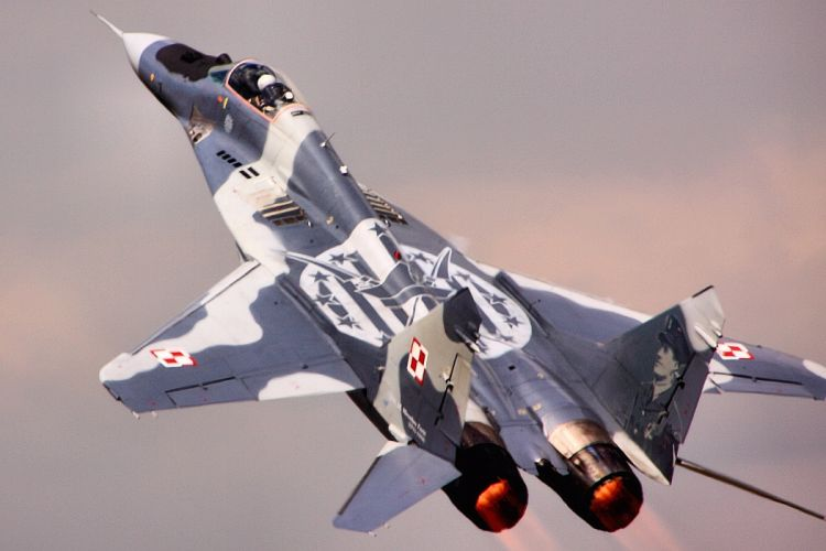 fighter jet military Mig-29 mig h wallpaper