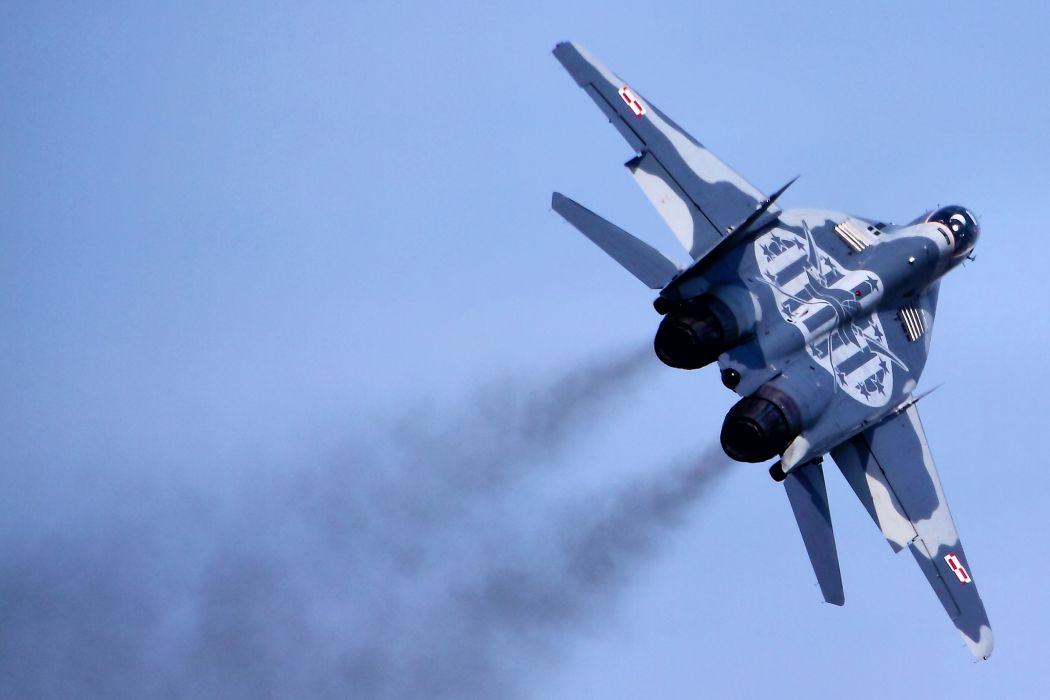 fighter jet military Mig-29 mig  g wallpaper