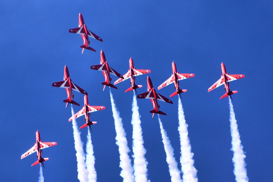 fighter jet military Red Arrows g wallpaper