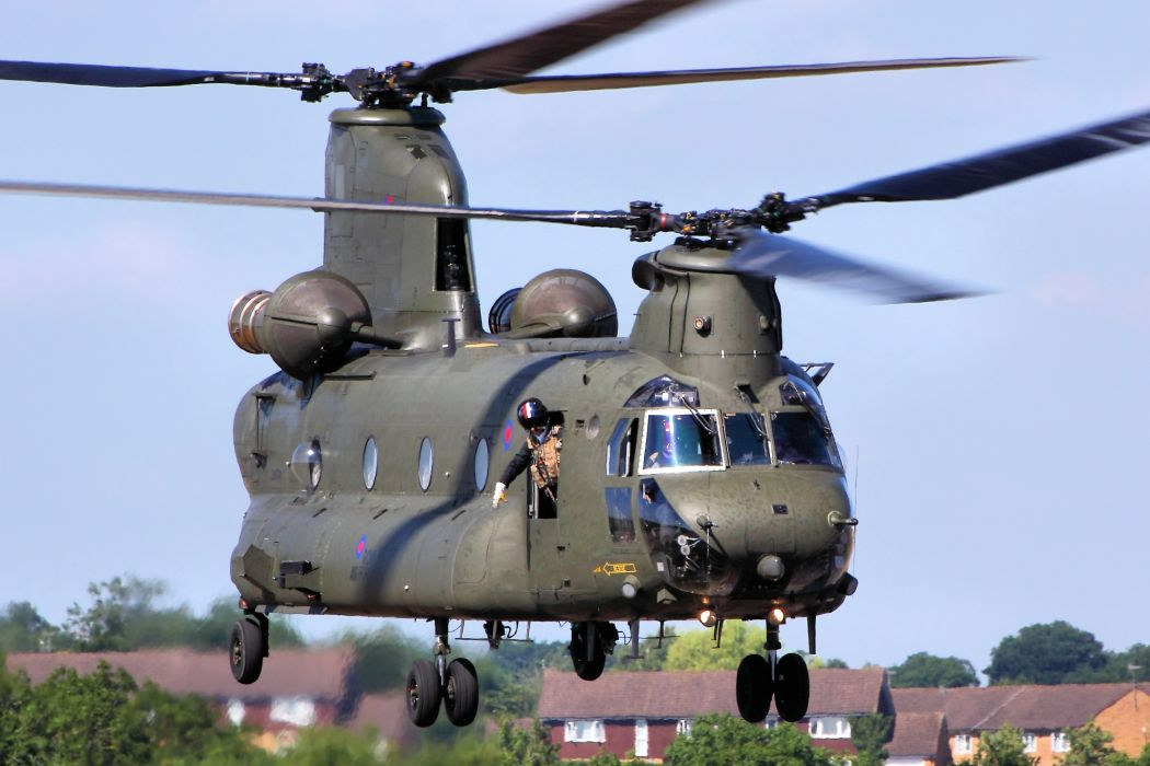 helicopter military Chinook transport       h wallpaper