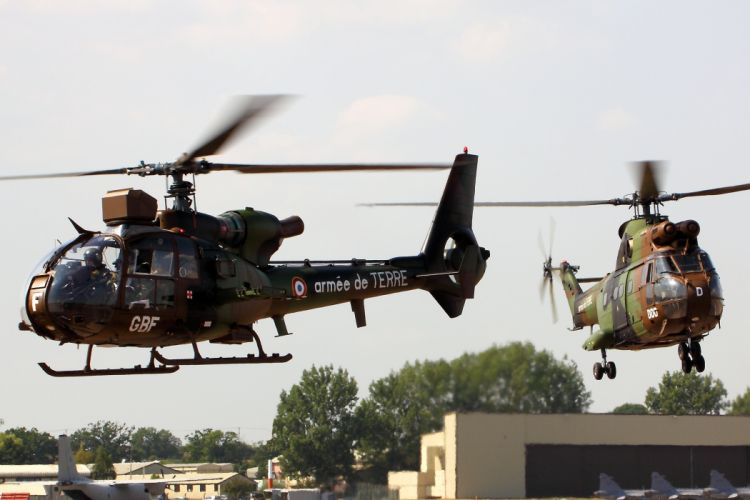 helicopter military Gazelle & Puma h wallpaper