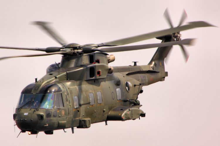 helicopter military Merlin h wallpaper