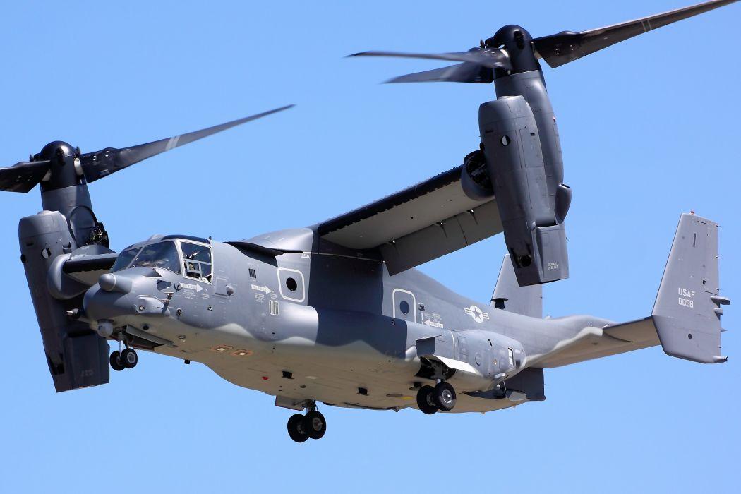 V22 Osprey military helicopter cargo transport plane    h wallpaper