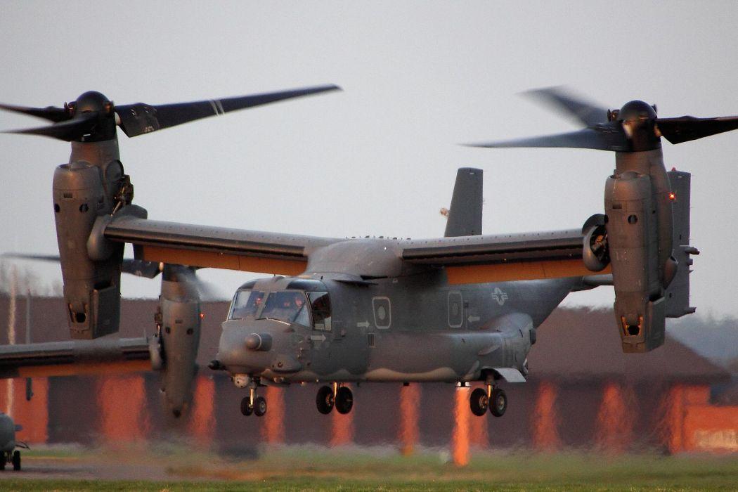 V22 Osprey military helicopter cargo transport plane b wallpaper